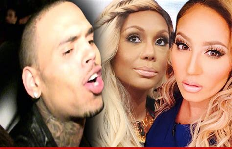 adrienne bailon on chris brown diss she fights back chris brown calls the real hosts trout