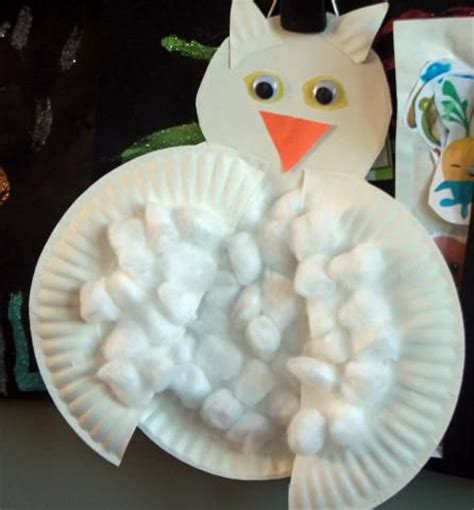 Canon Paper Craft Snowy Owl - the 21 best images about birds preschool crafts