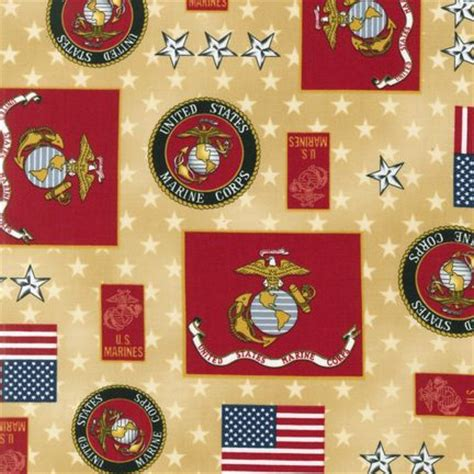 Marine Corps Fabric Quilting by Sneek Peek New Patriotic Fabrics By Kaufman
