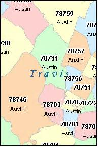 Zip Code Map Texas by Pics Photos Austin Texas Zip Code