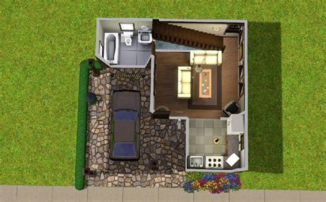 1 Bedroom Cottage Floor Plans by Mod The Sims The Tiny Starter