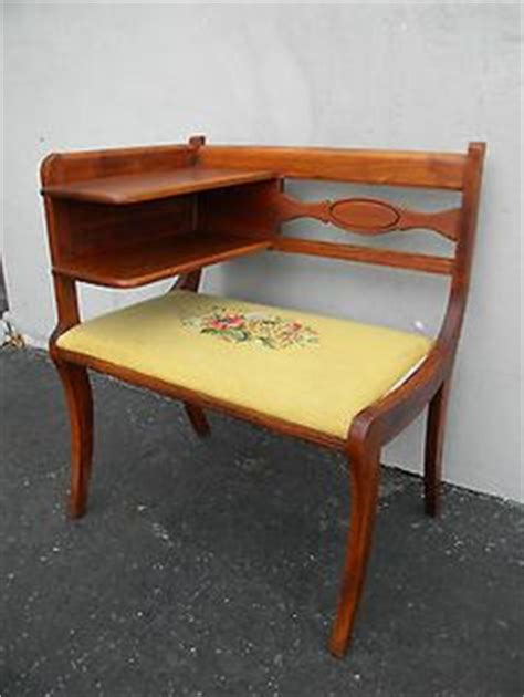 telephone bench for sale 1000 images about vintage telephone table on pinterest