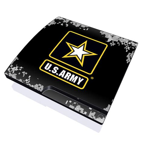 Skin Playstation 3ps3 Custom army pride playstation 3 slim skin covers sony playstation 3 for custom style and protection