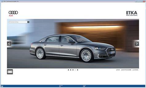 Etka Audi Free Download etka 7 5 plus electronic parts catalogue free download