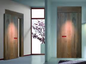 Interior Doors Design Innovative Interior Wooden Doors With No Handle Opening