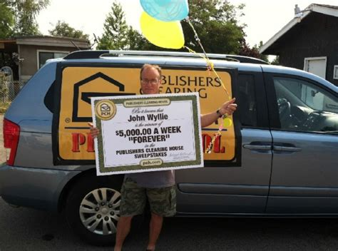 Publisher Clearing House Winners 2012 - publishers clearing house 5 000 a week forever prize sweepstakes sponsored