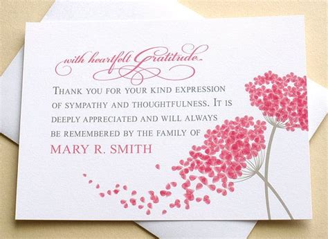 Do You Send Thank You Notes For Sympathy Cards Received
