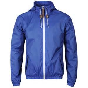 55 soul men ennis nylon jacket cobalt clothing zavvi