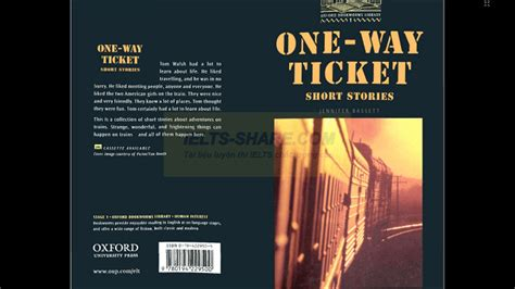 One Way Ticket Bookworms one way ticket stories oxford bookworms level 1