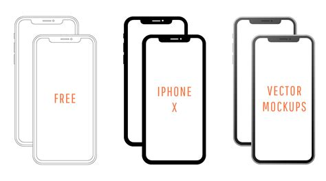 iphone layout vector free iphone x svg iphone x vector mockup