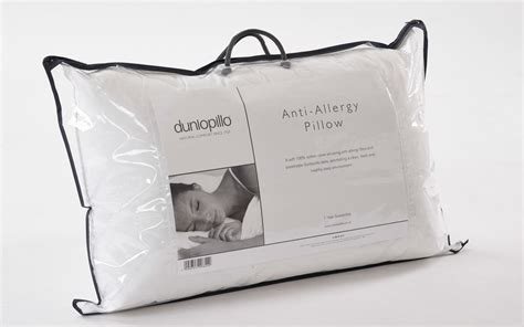 dunlopillo anti allergy pillow mattress