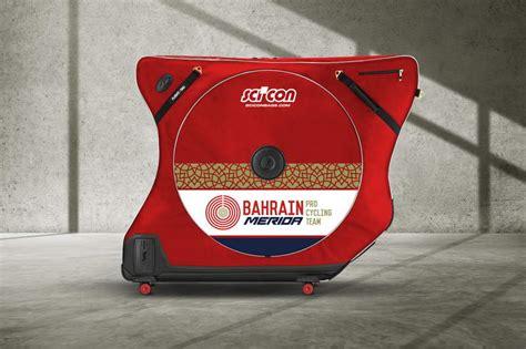 aero comfort scicon partenaire de l 233 quipe bahrain merida d 233 voile une
