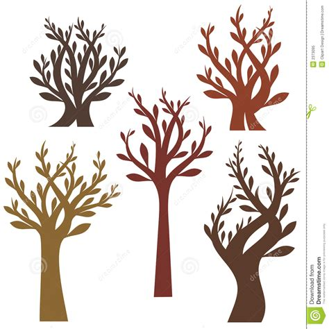 tree design series royalty free stock photo image 2373095