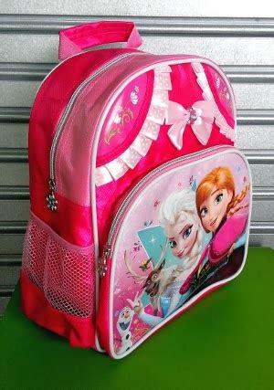 Ransel Ribbon cosmobunda frozen ribbon pink saten tas ransel backpack