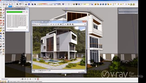 tutorial render vray sketchup exterior pdf ronisio maia sketchup 2013 pro br v ray 1 6 plug ins