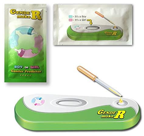 gendermaker boy or gender predictor at home test kit