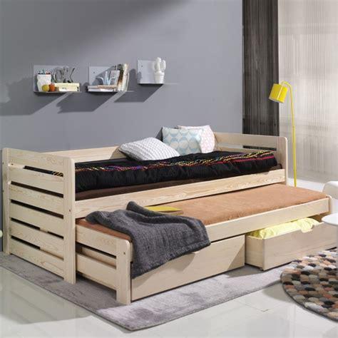 lits gigognes enfants lit enfant avec lit d appoint couleur pin www petitechambre fr