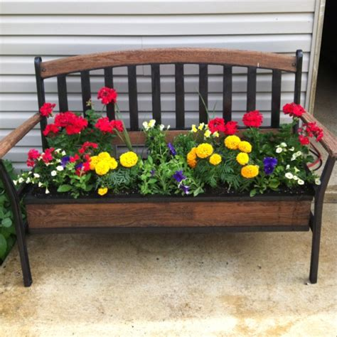 flower bed bench 671 best images about old chairs more on pinterest