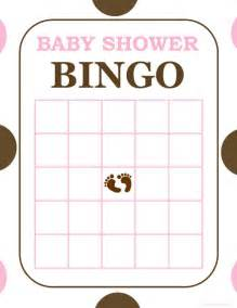 baby shower bingo cards template free and printable baby shower bingo card baby shower ideas
