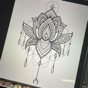 Lotus Mandala Design Best 25 Lotus Mandala Ideas On