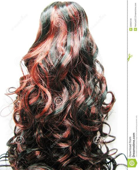 highlight diagrams for curly hair curly dark highlight hair texture background stock image