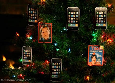 the iphone christmas tree