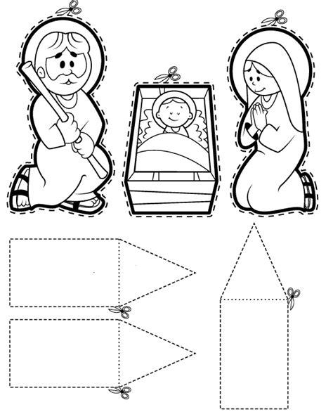 imagenes de pesebres navideños infantiles maestra de infantil bel 233 n para colorear figuras