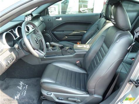 black black interior 2009 ford mustang shelby gt500