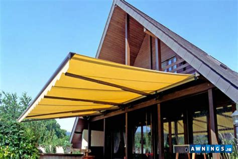 awnings ie folding and telescopic arm awnings from awnings ie