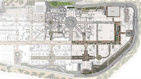 Retail Floor Plan The Avenues Projects Gensler