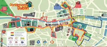 dublin map map dublin city centre