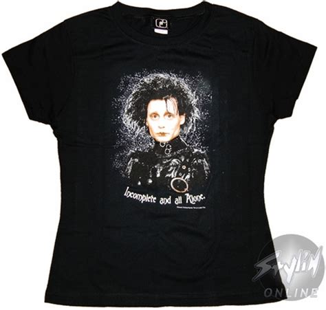 Tees My Is Incomplete edward scissorhands incomplete baby