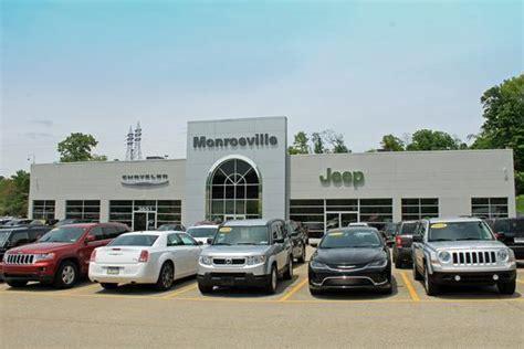 monroeville dodge jeep monroeville chrysler jeep new chrysler jeep dealership
