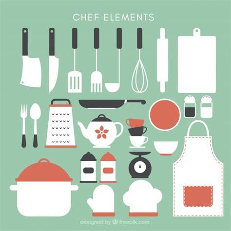 imagenes vectoriales cocina gratis colecci 243 n de bonitos utensilios de cocina descargar