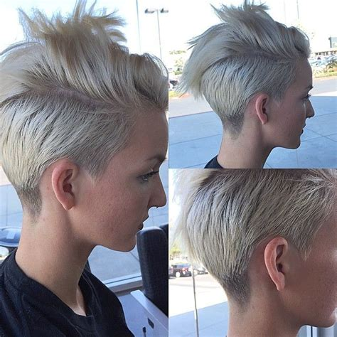 pixie cut with razor comb seriouslynicole is growing out her undercut when