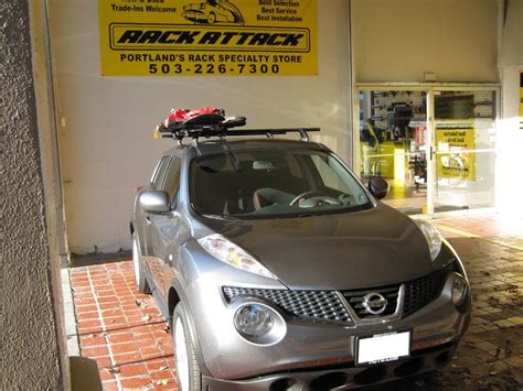 Roof Rack For Nissan Juke by Putting A Roof Rack On A Nissan Juke