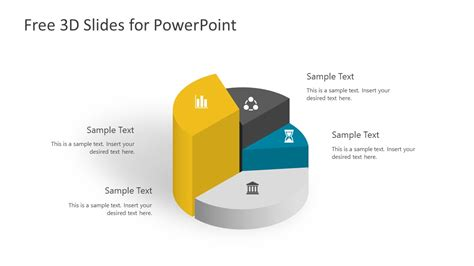 Free 3d Infographic Slides For Powerpoint Slidemodel 3d Powerpoint Templates Free