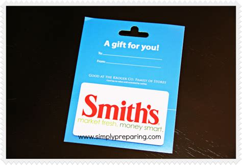 Grocery Gift Cards - smith s grocery store gift card simply preparing