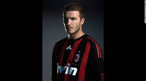 Beckham For Marc 2008 Revealed by David Beckham Fast Facts Cnn