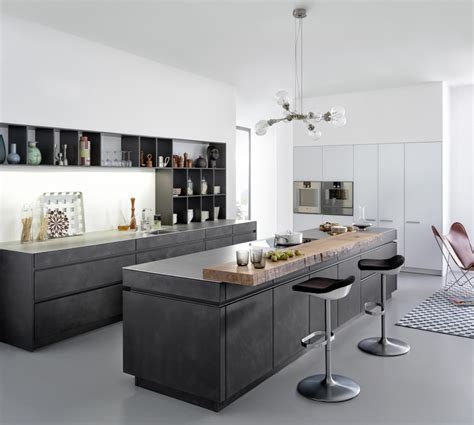 Display Kitchen Cabinets by Modern Kitchen Showroom Concrete A Toronto