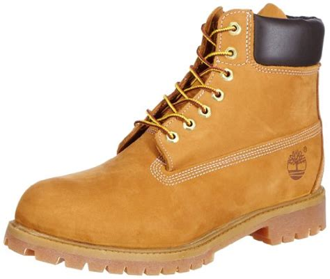 timberland new boat shoe wheat nubuck exclusive timberland men s 10061 6 quot premium boot wheat 12 w shoesme9