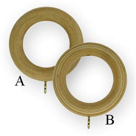 wooden curtain rod rings wood curtain rings unfinished interiordecorating