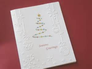 handmade embossed cards card by rosmina