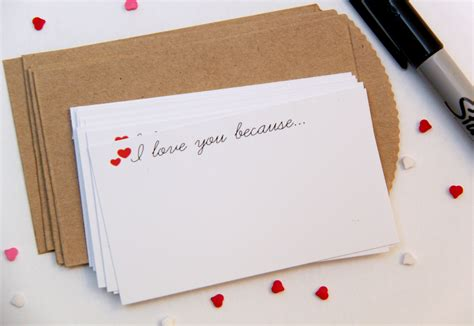 printable love note cards i love you because free printable notecards smashed
