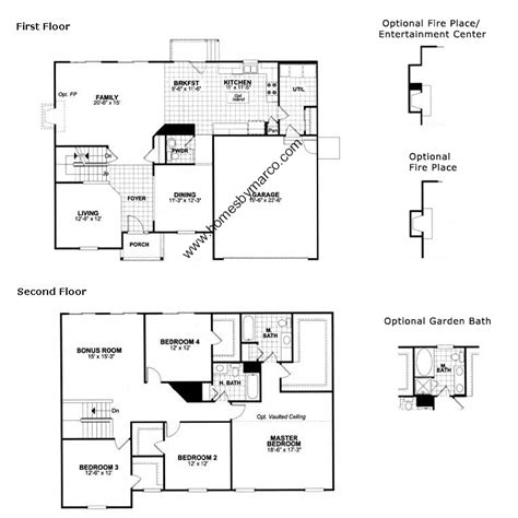 homes by marco floor plans dinmont model in the amber fields subdivision in aurora