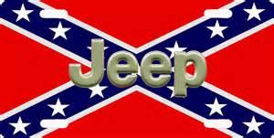 jeep rebel flag j2000 jeep logo on confederate flag license plate ebay