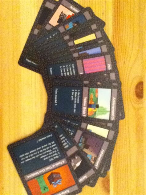 Where Can You Buy A Minecraft Gift Card - minecraft the card game achievement cards by mccgsam on deviantart