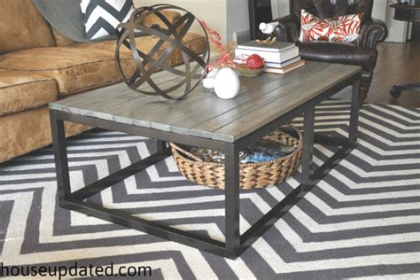 Diy Industrial Coffee Table Diy Coffee Table Projects The Budget Decorator