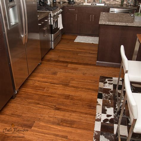 Cali Bamboo Eco Engineered Flooring Java Fossilized