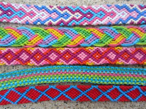 friendship bracelets with overlap friendship bracelets